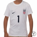 Youth Nike USWNT Hope Solo Replica Tee