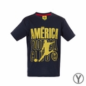 Youth Rhinox Club America Poly Top - Azul