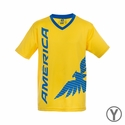 Youth Rhinox Club America Poly Top - Yellow