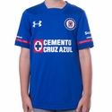 Youth Under Armour Cruz Azul 2017/2018 Home Jersey