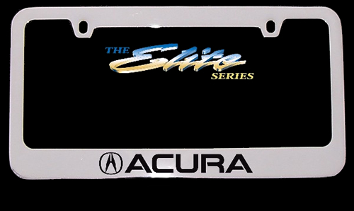 Acura License Frame