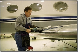 Aircraft Aluminum Polishing