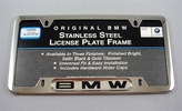 BMW License Frame