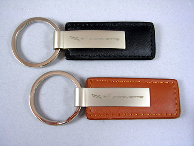 Corvette Leather Key Chains