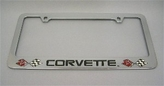 Corvette License Frame