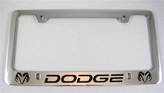 Dodge License Frame