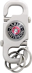 Harley Fat Boy Key Ring