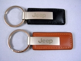 Jeep Leather Key Chains