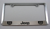 Jeep License Frame