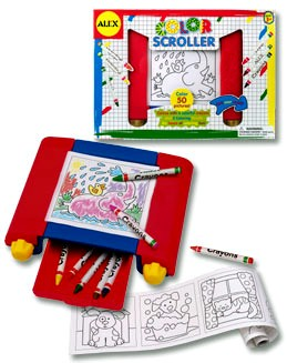 Kids Color Scroller
