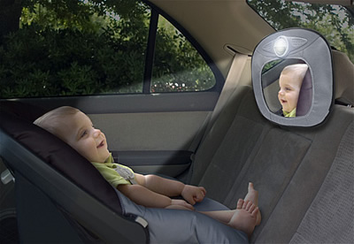 Lighted Musical Baby Mirror