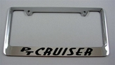 PT Cruiser License Frame