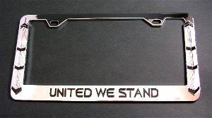 Twin Towers License Frame