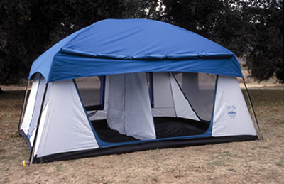 Two Room Promontory Tent
