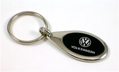Volkswagen Chrome Key Chain