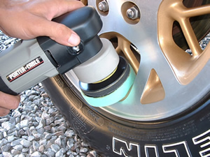 Wheel Polishing