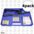 Astro Pneumatic 1442 4pk Nut/Thread Hand Rivet Kit