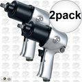 Astro Pneumatic 1812 2pk 1/2-Inch Super Duty Impact Wrench Twin Hammer
