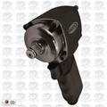 "Astro Pneumatic 1822 1/2"" NANO ONYX Impact Wrench Air Powered Shorty Impact"