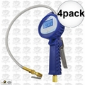 "Astro Pneumatic 3018 4pk 3.5"" Digital Tire Inflator with Hose"