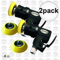 "Astro Pneumatic 321 2pk ONYX Micro 2"" Random Orbit Sander Hook+Loop-3mm Orb"