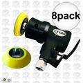 "Astro Pneumatic 321 8pk ONYX Micro 2"" Random Orbit Sander Hook+Loop-3mm Orb"