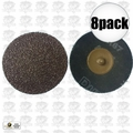 "Astro Pneumatic 3RO36 8pk Surface Conditioning Disc Roloc style 3"" x 36 Grit"