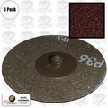"Astro Pneumatic 3RO36 5pk Surface Conditioning Disc Roloc style 3"" x 36 Grit"