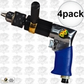 "Astro Pneumatic 527C 4pk 1/2"" Heavy Duty Reversible Pneumatic Air Drill"
