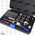 Astro Pneumatic 7582 Automotive Tap & Die Set - Metric
