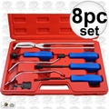 Astro Pneumatic 7848 8pc Professional Brake Tool Set