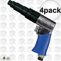 Astro Pneumatic 810T 4pk Reversible Pneumatic Air Screwdriver