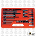 Astro Pneumatic 9447 EZ Out Screw Extractor Drill + Guide Set 25pc.
