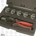 Astro Pneumatic 9477 7pc Professional Quick Change Ratcheting Crimping Tool