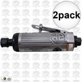 "Astro Pneumatic T210 2pk 1/4"" Pneumatic Air Die Grinder w. Safety Lever"