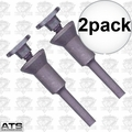 ATS Abrasives COWMAN 2pk Abrasive Die Grinder Cut-Off Wheel Mandrel