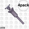 ATS Abrasives COWMAN 4pk Abrasive Die Grinder Cut-Off Wheel Mandrel