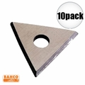 """Bahco 449 10pk 1"""" Replacement Triangle Blade"""