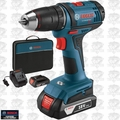 "Bosch DDB181-02 18-Volt Lithium-Ion 1/2"" Compact Tough Drill/Drive Kit"