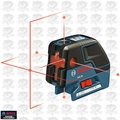 Bosch GCL25 3x 5-Point Self Leveling Alignment Cross-Line Laser