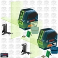 Bosch GLL 100 GX-RT 2x Recon Self-Leveling GREEN-BEAM Cross-Line Laser
