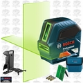 Bosch GLL 100 GX-RT 4x Recon Self-Leveling GREEN-BEAM Cross-Line Laser