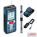 Bosch GLM80+R60 Laser Distance Measurer PLUS R 60 Digital Level