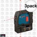 Bosch GPL3 3x 3-Point Self-Leveling Alignment Laser