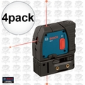 Bosch GPL3 4pk Reconditioned 3-Point Self-Leveling Alignment Laser