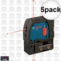 Bosch GPL3 5x 3-Point Self-Leveling Alignment Laser