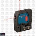 Bosch GPL3 Reconditioned 3-Point Self-Leveling Alignment Laser