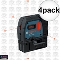 Bosch GPL5-RT 4x 5-Point Class II 1mW Self-Leveling Alignment Laser