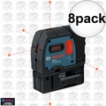 Bosch GPL5-RT 8x 5-Point Class II 1mW Self-Leveling Alignment Laser