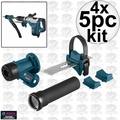 Bosch HDC300 SDS-Max and Spline Hammer Dust Collection Attachment 4x